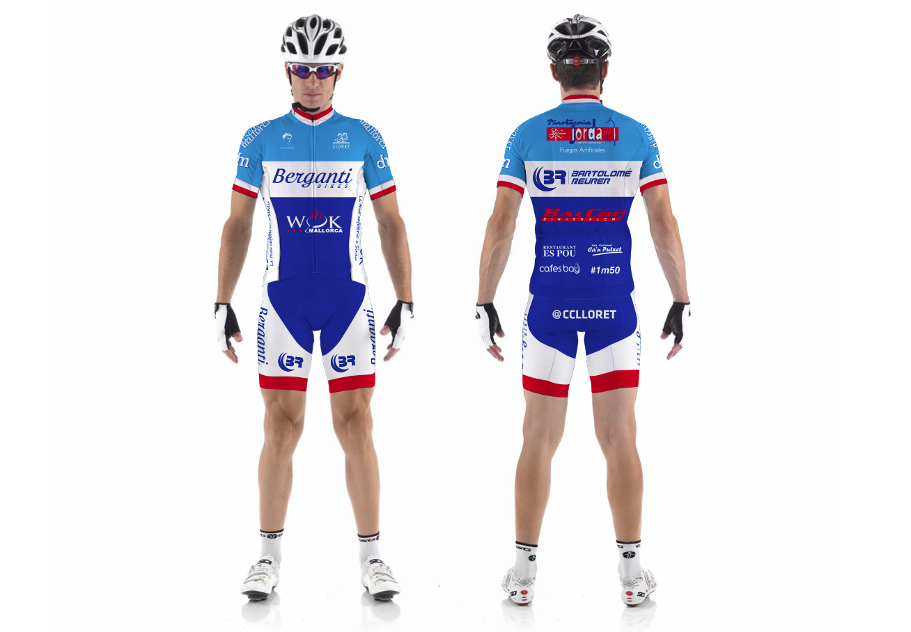 Equipació ciclisme 2014