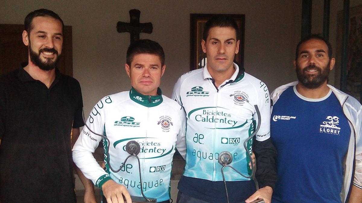 Trofeo vencedores Caldentey-Sun Project